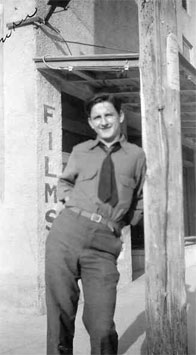 Stanley Galik in Hot Springs, NM - April 1940