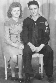 Mel and Stanley - Weddding Picture - January 4, 1945