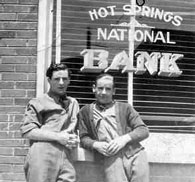Bill Sharpe and Snyder - Hot Springs National Bank