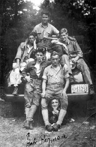 Bob Pigman with other Pennsylvania CCC enrollees